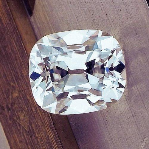 Top cut 5 Ct. Old Mine Diamond