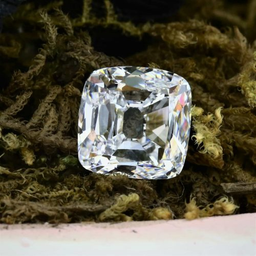 Antique 3 Ct. D IF Diamond