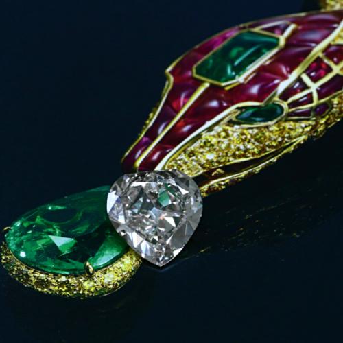 13 Ct. Antique Phosphouros Diamond